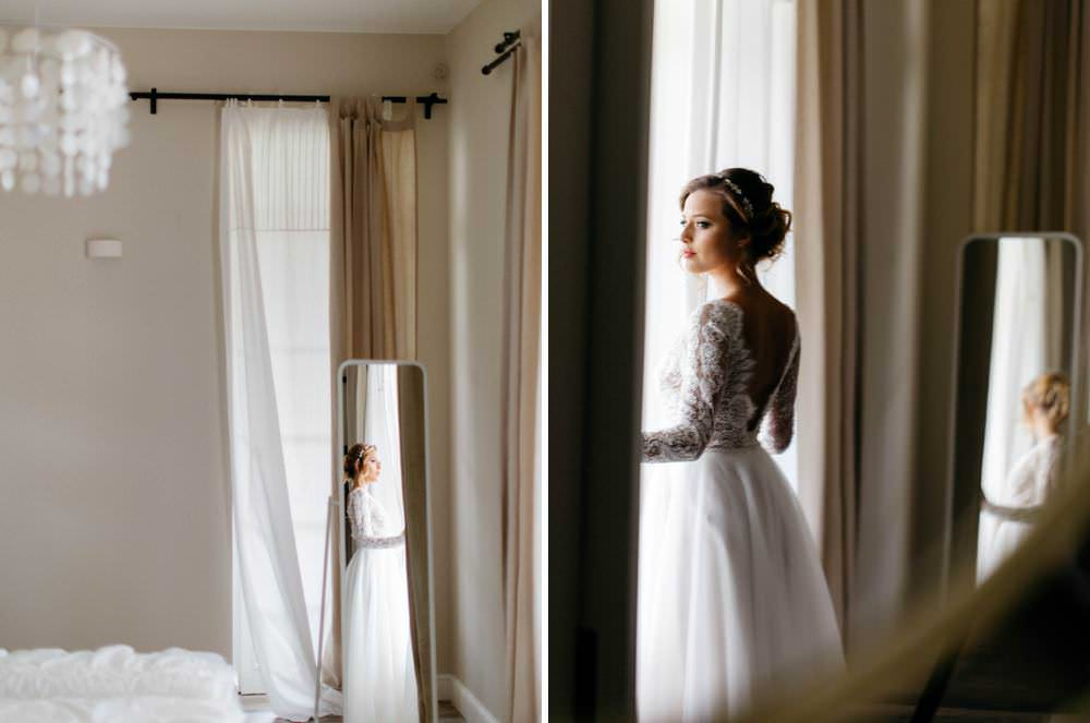 Mietowe wzgorza wedding session bridal editorial